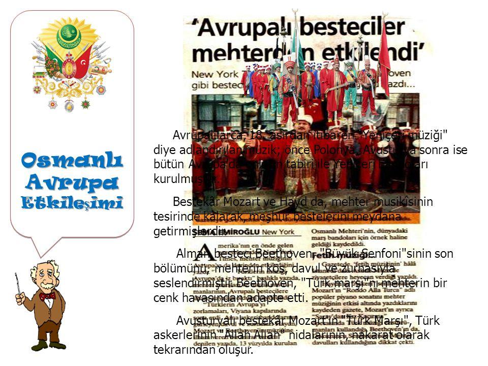 Osmanlı Avrupa Etkileşimi