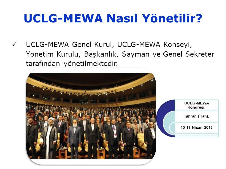 UCLG-MEWA Nasıl Yönetilir