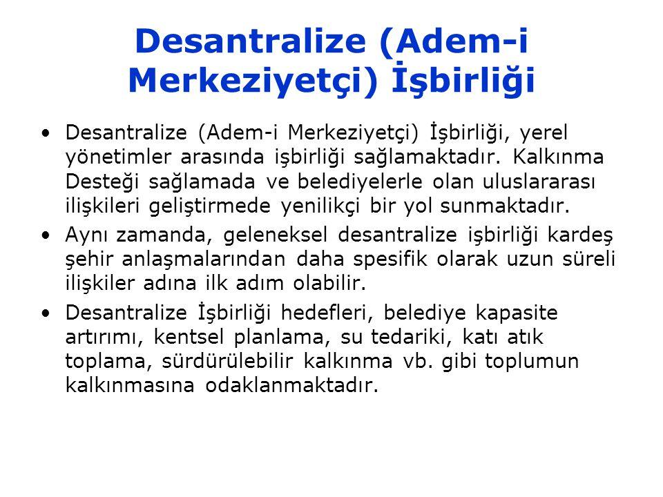 Desantralize (Adem-i Merkeziyetçi) İşbirliği