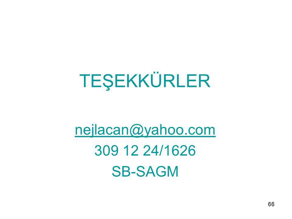 TEŞEKKÜRLER nejlacan@yahoo.com 309 12 24/1626 SB-SAGM