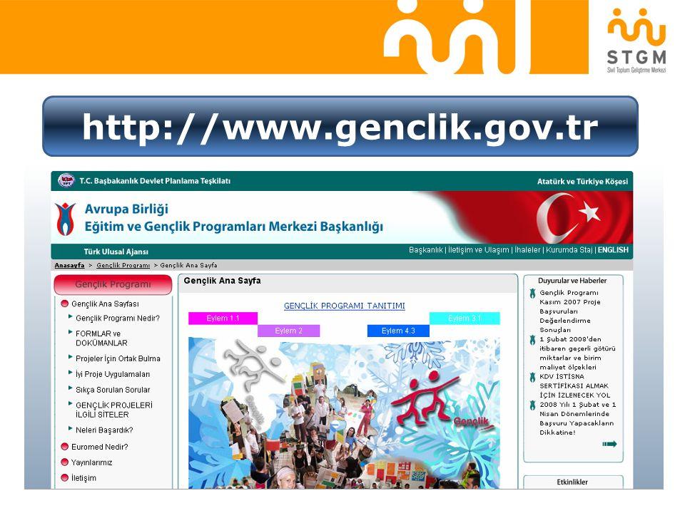 http://www.genclik.gov.tr