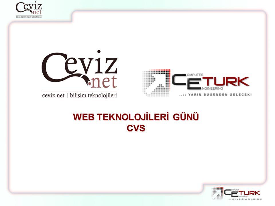 WEB TEKNOLOJİLERİ GÜNÜ