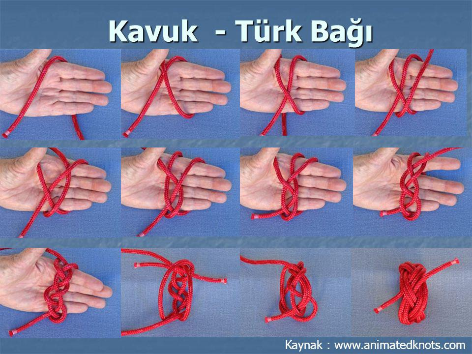 Kavuk - Türk Bağı Kaynak : www.animatedknots.com