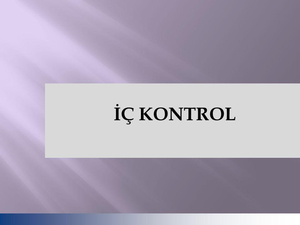 İÇ KONTROL