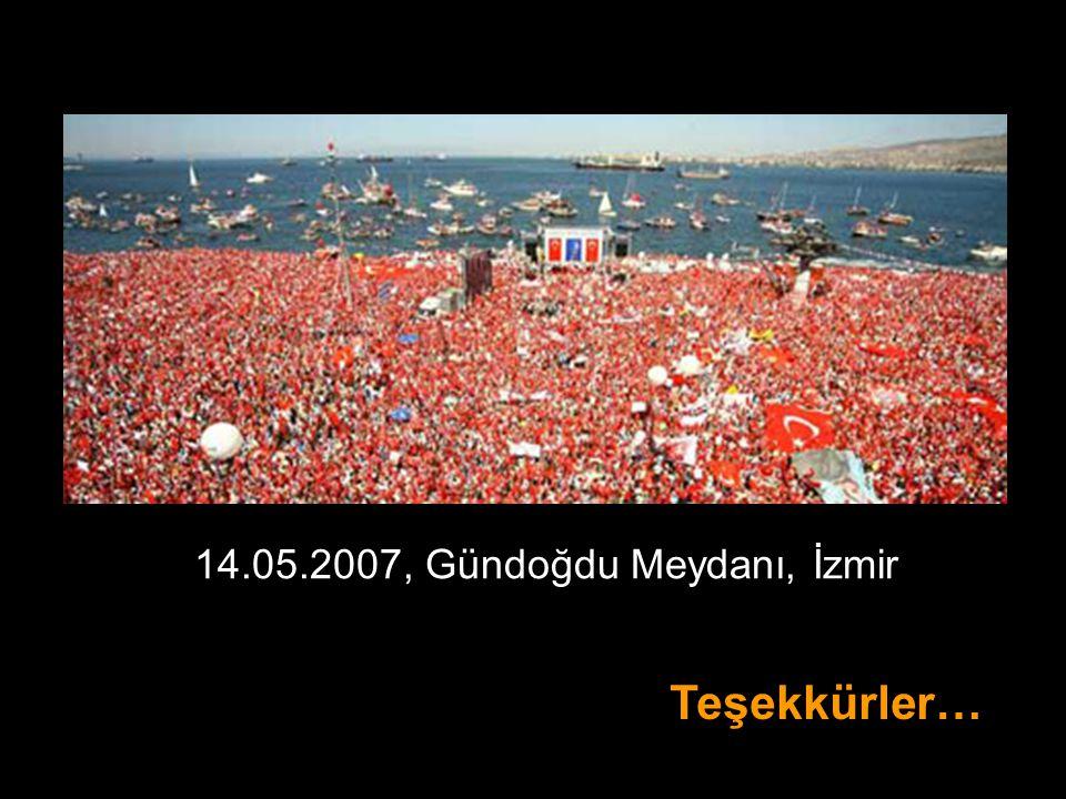 14.05.2007, Gündoğdu Meydanı, İzmir