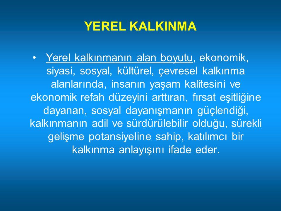 YEREL KALKINMA