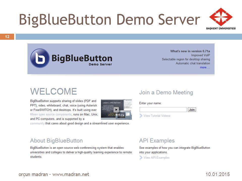 BigBlueButton Demo Server
