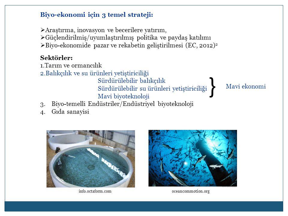 } Biyo-ekonomi için 3 temel strateji: