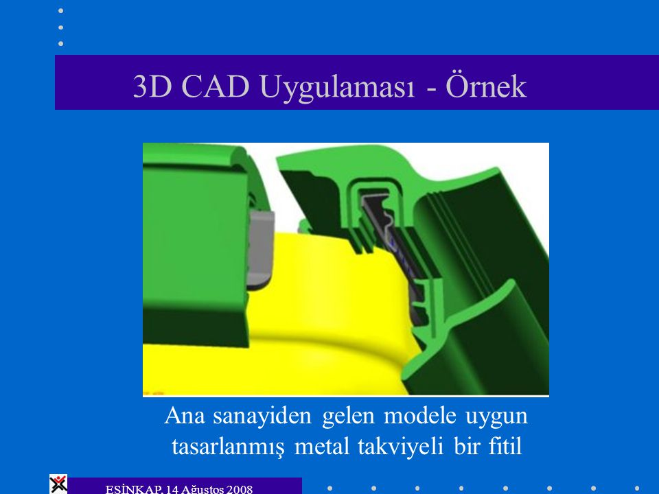 3D CAD Uygulaması - Örnek