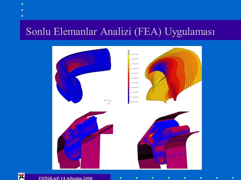 Sonlu Elemanlar Analizi (FEA) Uygulaması