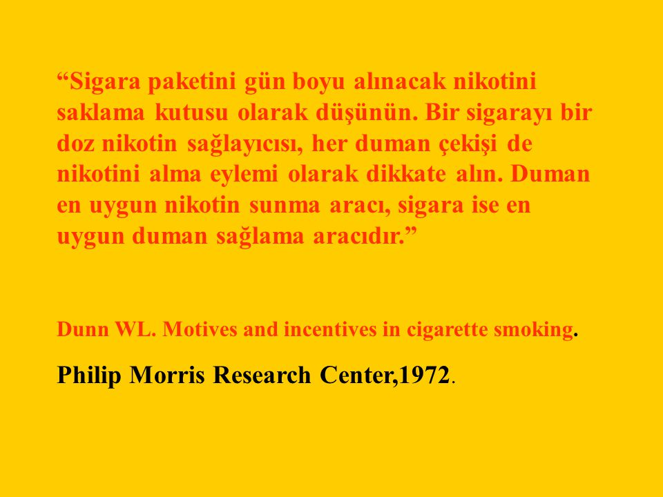 Philip Morris Research Center,1972.