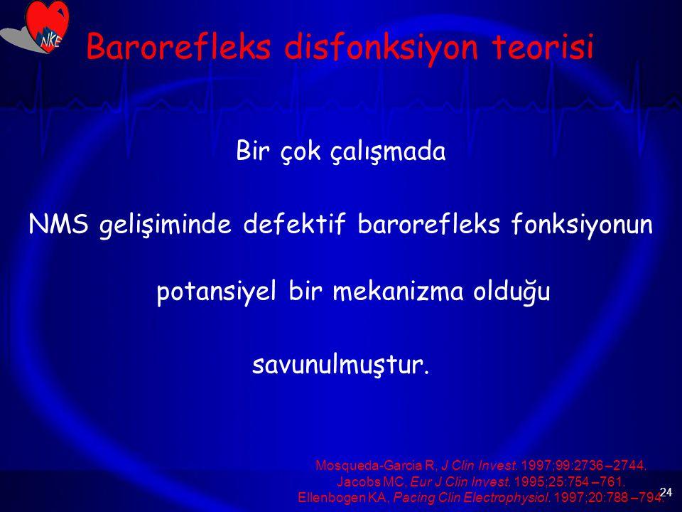 Barorefleks disfonksiyon teorisi
