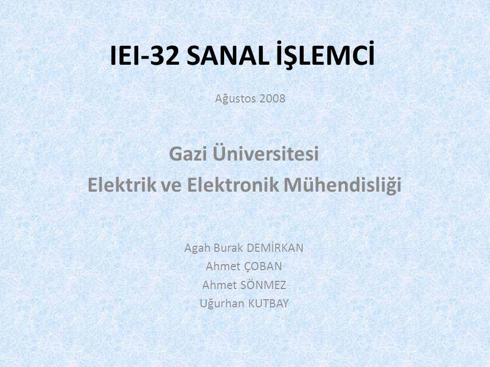 Agah Burak DEMİRKAN Ahmet ÇOBAN Ahmet SÖNMEZ Uğurhan KUTBAY