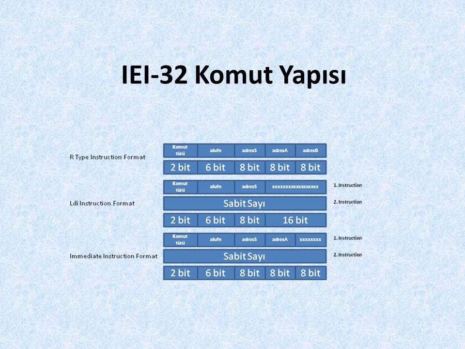 IEI-32 Komut Yapısı