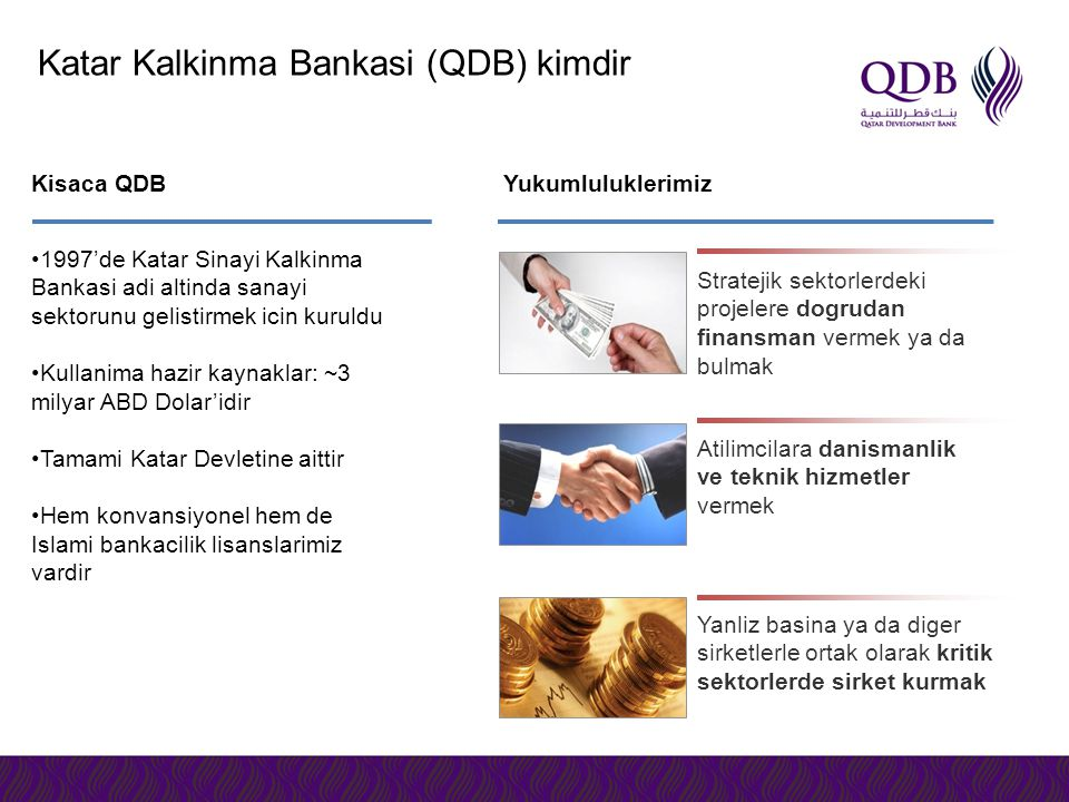 Katar Kalkinma Bankasi (QDB) kimdir