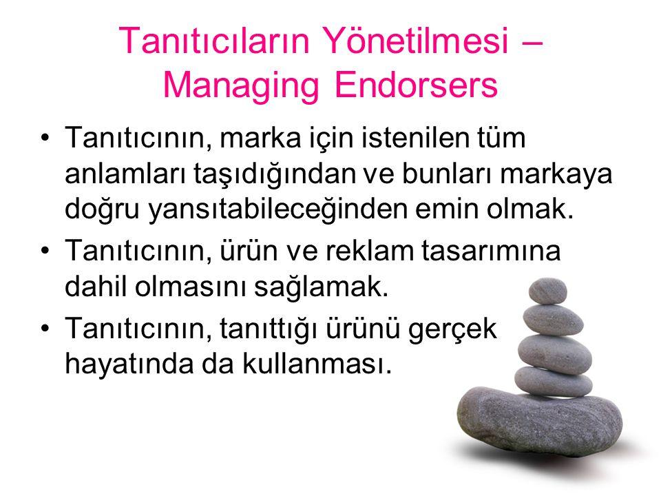 Tanıtıcıların Yönetilmesi – Managing Endorsers