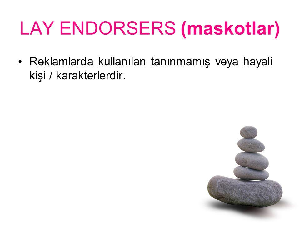 LAY ENDORSERS (maskotlar)