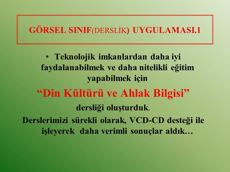 GÖRSEL SINIF(DERSLİK) UYGULAMASI.1