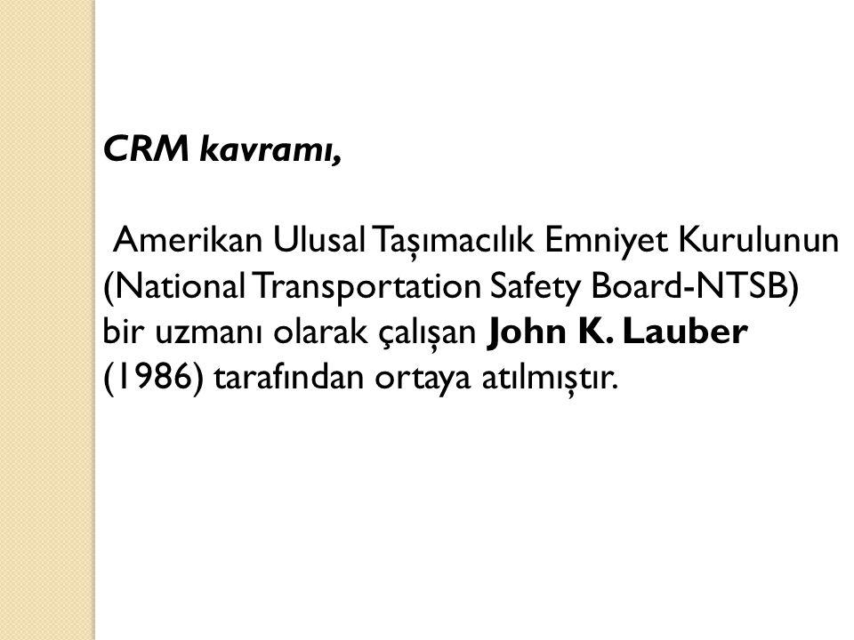 CRM kavramı,