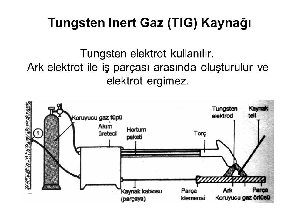Tungsten Inert Gaz (TIG) Kaynağı