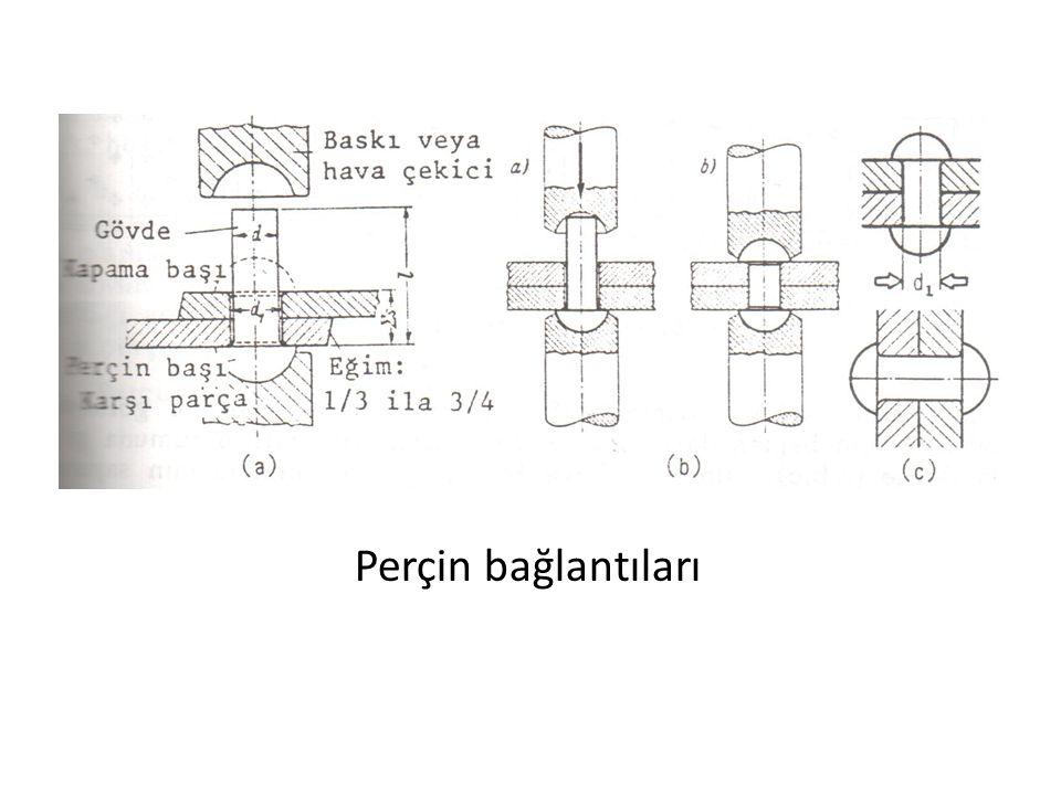 Perçin bağlantıları
