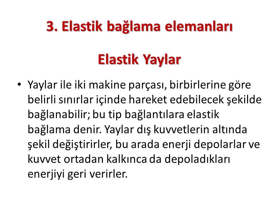 3. Elastik bağlama elemanları