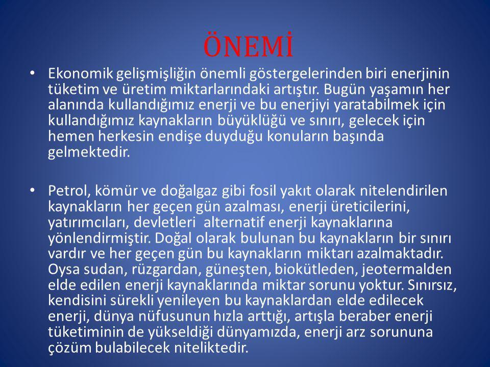 ÖNEMİ