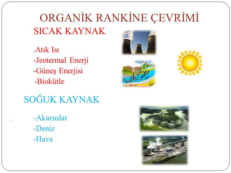 ORGANİK RANKİNE ÇEVRİMİ