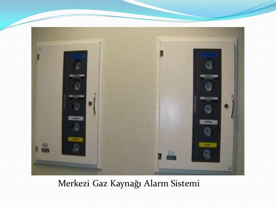 Merkezi Gaz Kaynağı Alarm Sistemi