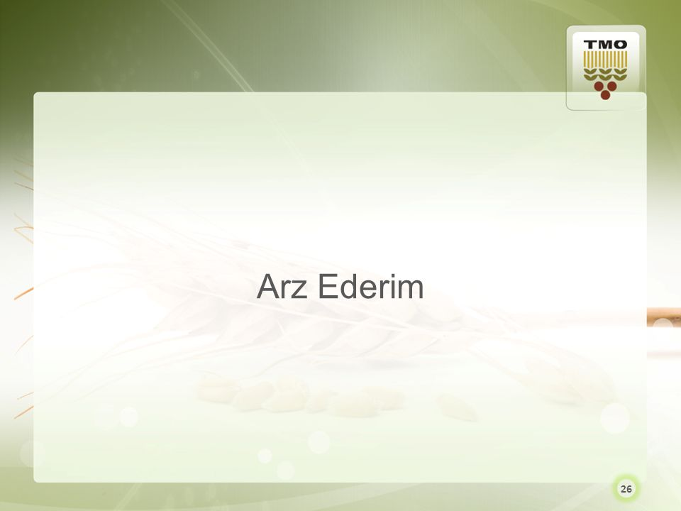 Arz Ederim