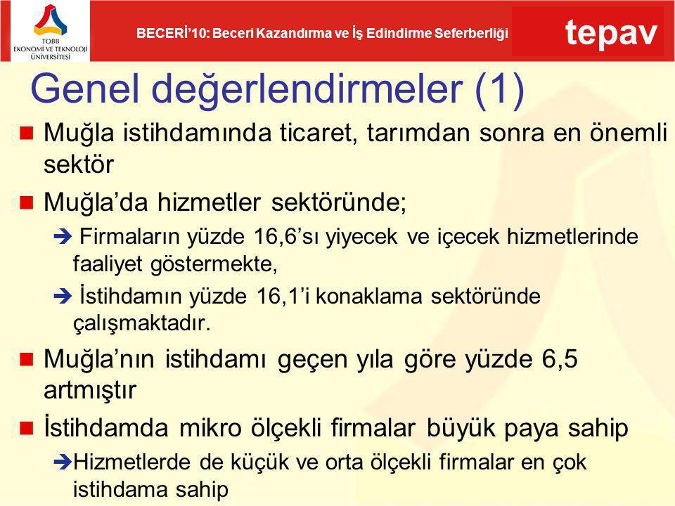 Genel değerlendirmeler (1)