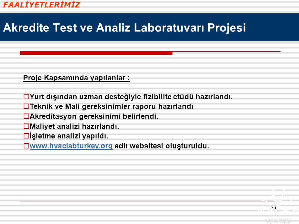 Akredite Test ve Analiz Laboratuvarı Projesi