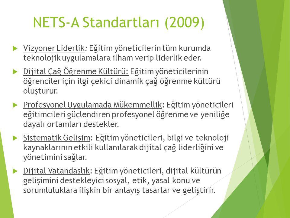 NETS-A Standartları (2009)