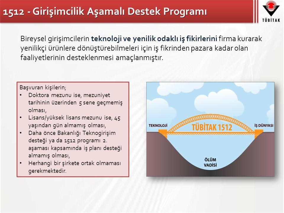 1512 - Girişimcilik Aşamalı Destek Programı