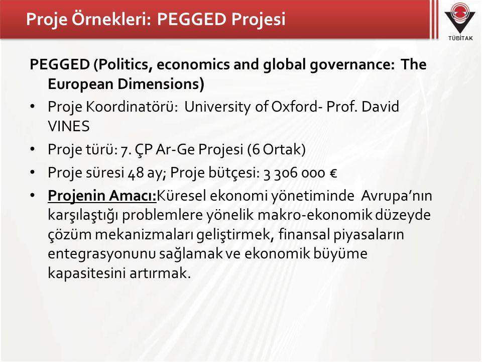 Proje Örnekleri: PEGGED Projesi