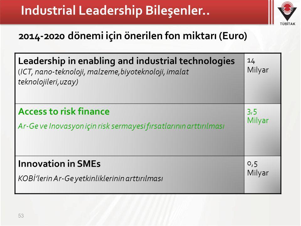Industrial Leadership Bileşenler..