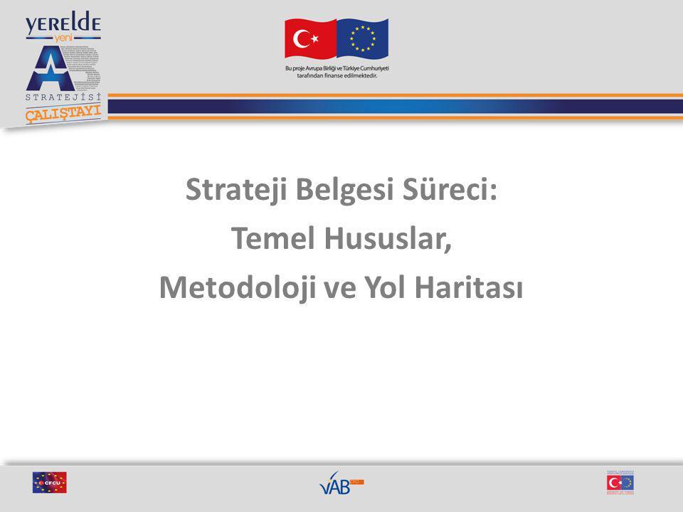 Strateji Belgesi Süreci: Temel Hususlar, Metodoloji ve Yol Haritası