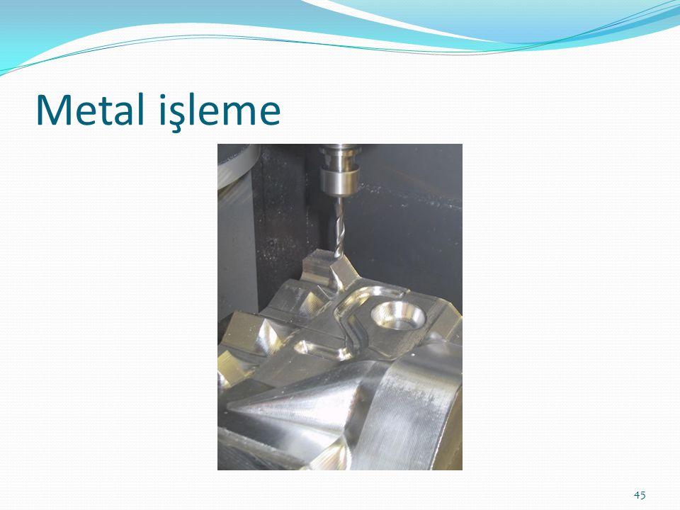 Metal işleme