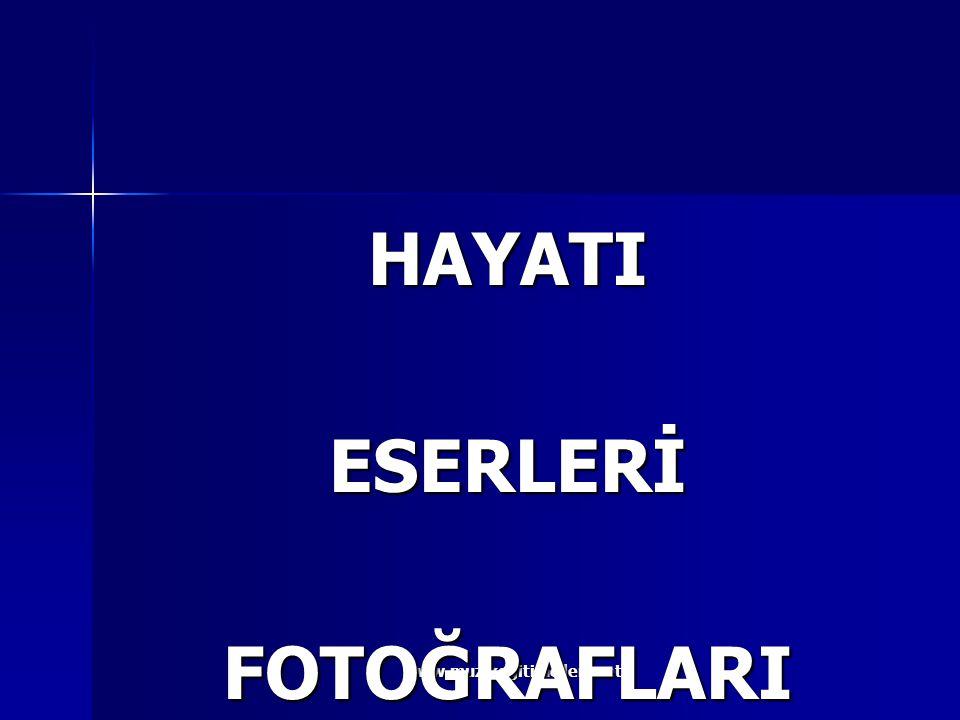 HAYATI ESERLERİ FOTOĞRAFLARI