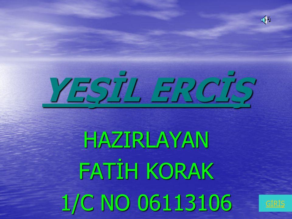 HAZIRLAYAN FATİH KORAK 1/C NO 06113106