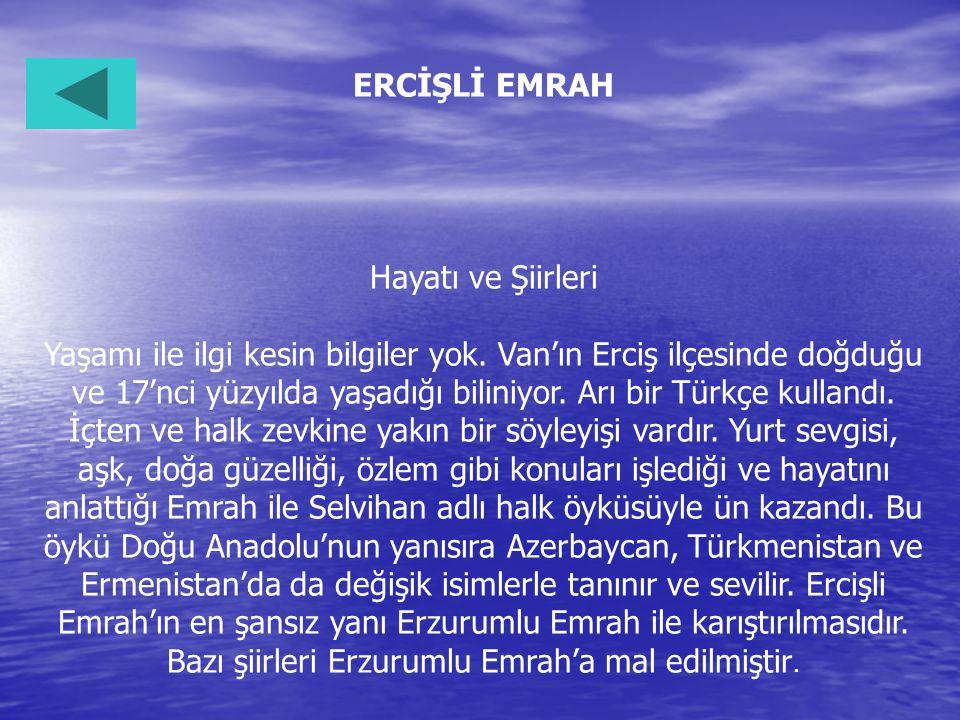 ERCİŞLİ EMRAH