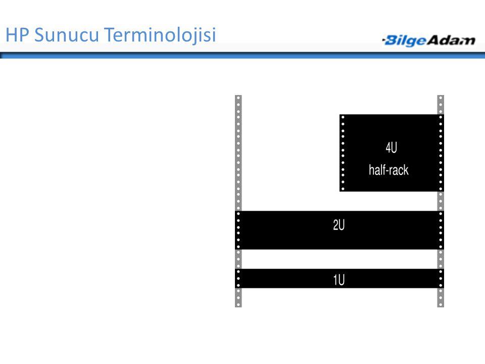 HP Sunucu Terminolojisi