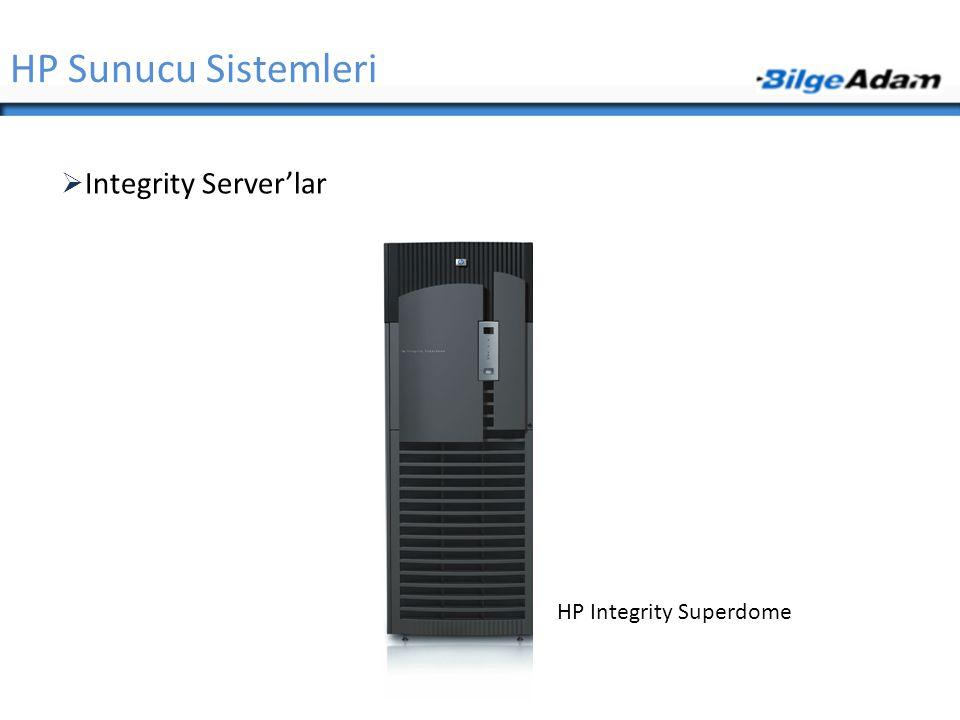 HP Sunucu Sistemleri Integrity Server'lar HP Integrity Superdome