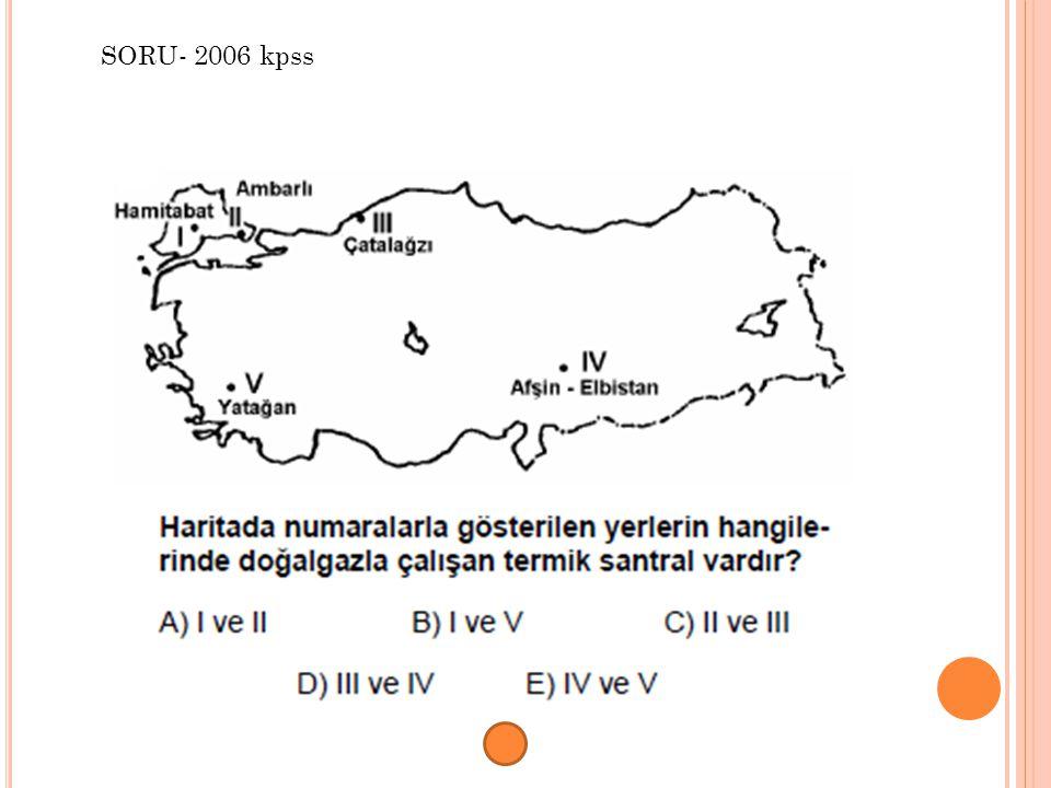 SORU- 2006 kpss