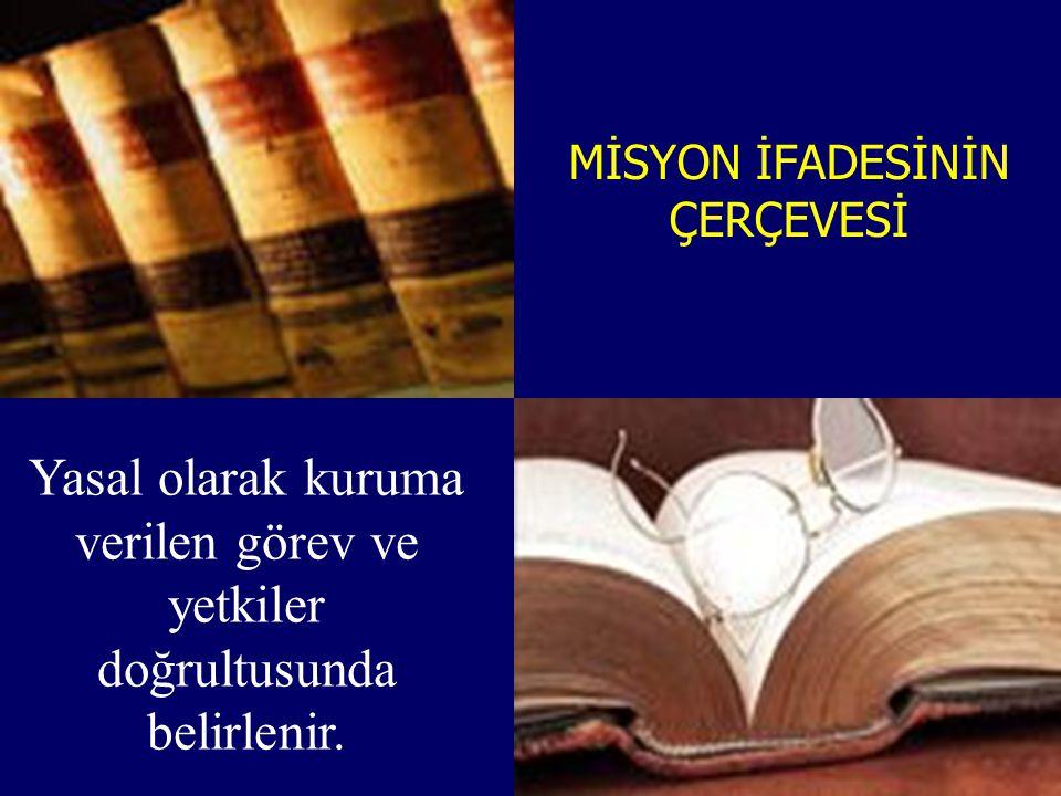 MİSYON İFADESİNİN ÇERÇEVESİ