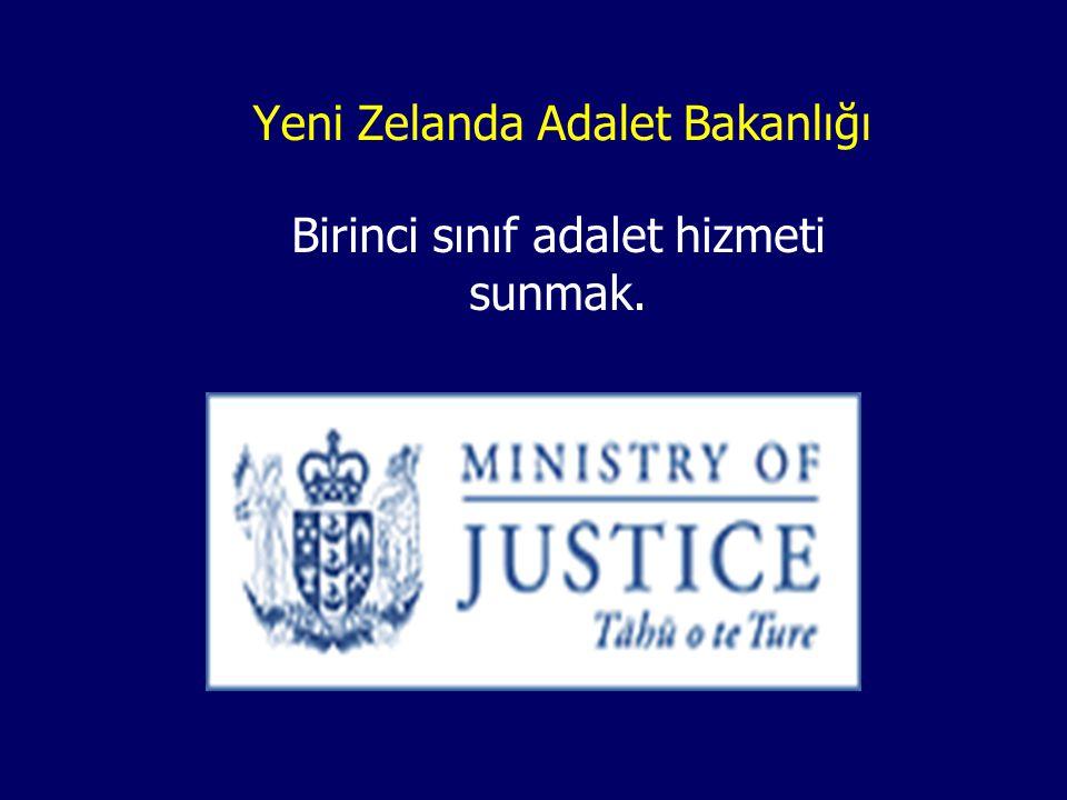 Yeni Zelanda Adalet Bakanlığı