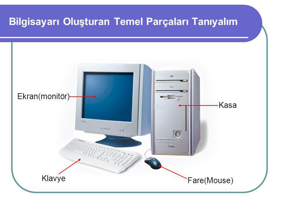 Bilgisayarı Oluşturan Temel Parçaları Tanıyalım