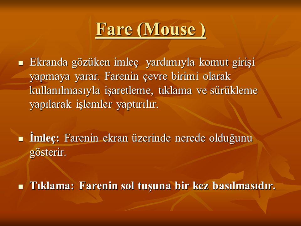Fare (Mouse )