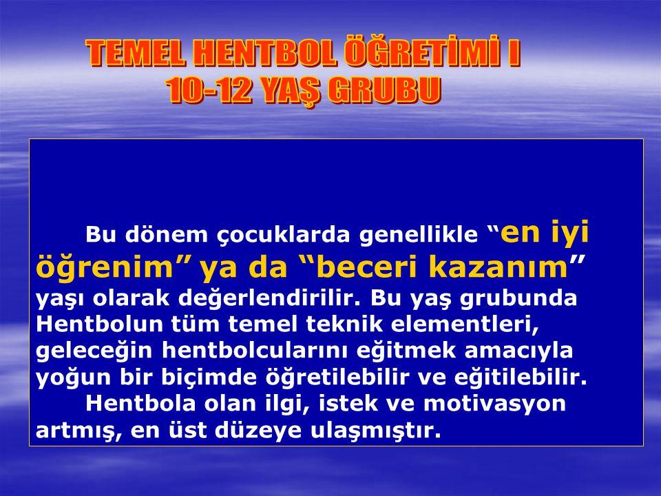 TEMEL HENTBOL ÖĞRETİMİ I