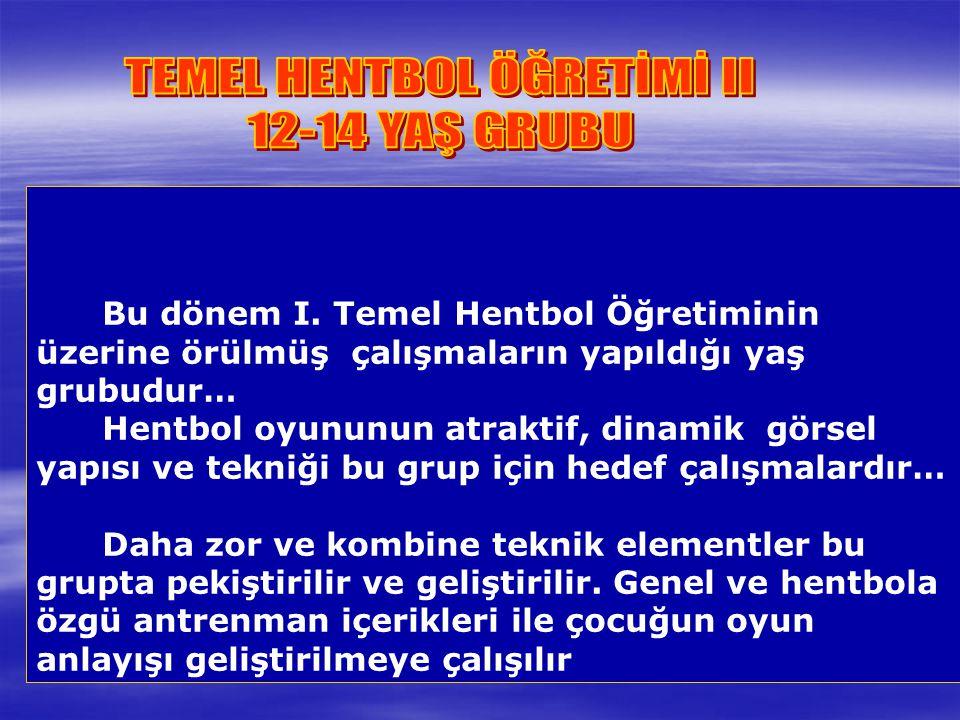 TEMEL HENTBOL ÖĞRETİMİ II